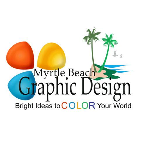Myrtle beach graphic design